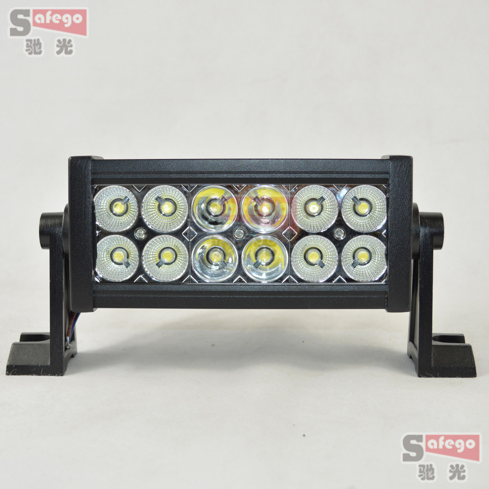 2pcs  36w LED Work Light Bar Lamp for Tractor Boat Off-Road 4WD 4x4 12v 24v Truck SUV ATV Spot Flood<br>