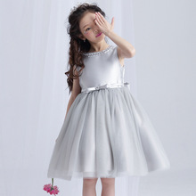 The girl new gauze princess tutu dress summer for size 4 5 6 7 8 9 10 11 12 13 14 15 16 years kid piano dress dance costume