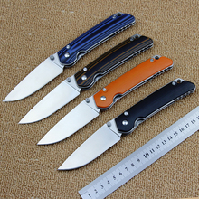 High quality KF-01 folding knife G10 handle + D2 steel blade camping hunting tactical knife outdoor tool survival knife