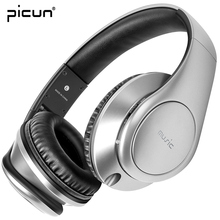 Picun P7 Wireless Bluetooth Headphone HIFI Sound Gaming Headset With Microphone Support TF Card FM Radio for Xiaomi Samsung mp3(China)