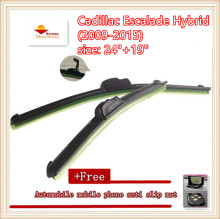 "High-quality Car Windscreen Wiper For Cadillac Escalade Hybrid (2009-2015),size: 24""+19""(China)"
