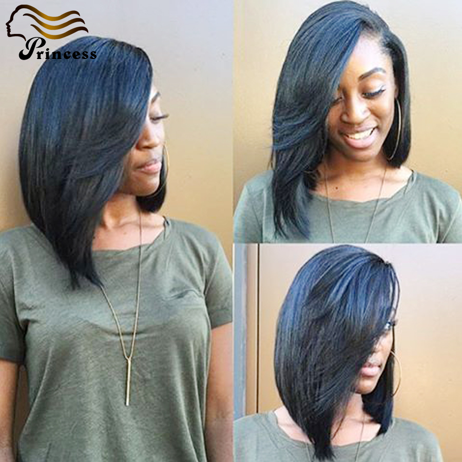 Best Quality Malaysian Bob Cut Wigs Straight Short Full Lace Human Hair Wigs For Black Women Glueless Lace Front Human Hair Wigs<br><br>Aliexpress