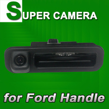 For Range Rover Freelander Ford Mondeo Focus trunk handle Car Reverse rear view back up Parking Camera Security(China)