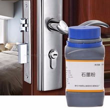 Buy 500g Graphite Fine Powder Lubricant Lock Locksmith Cylinder Car Padlock New JUN28 dropship