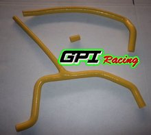 ATV CAM-AM DS450 DS 450 2008 08 YELLOW high performance silicone Radiator Hose Kit red silicone hose
