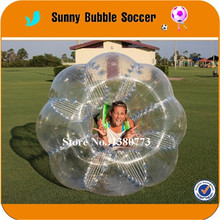 High Quality Soccer Zorb Ball Inflatable Human Bubble Football For Sale with 1.5m TPU TOP material(China)