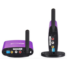 PAT-650 5.8GHz 300m Wireless STB AV Sender TV Audio Video Transmitter & Receiver Set for IPTV DVD with EU US UK AU Plug PAT650(China)
