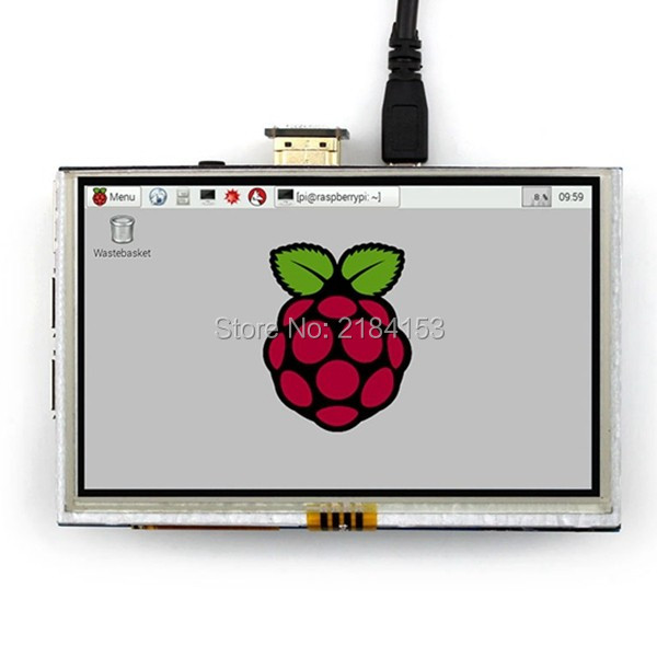 5 inch LCD HDMI Touch Screen Display TFT LCD Panel Module 800*480 for Banana Pi Raspberry Pi 2 Raspberry Pi 3 Model B / B+<br>