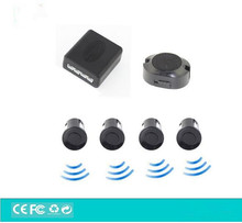 Car Buzzer Parking Sensor Kit 4 Sensors Sound Alert Indicator 22mm 12V Reverse Assistance,Auto Backup Rear View Parking System