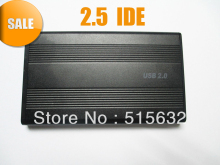 "USB 2.0 2.5"" Hard Drive IDE HDD Ext Enclosure Case USB Cable & screws kit"