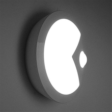 LED Wall Night Light USB Charging Motion-activated Automatic Porch Nightlight Lamp for Hallway, Pathway, Corridor, Basement, etc