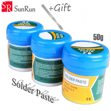 3pcs BST506 50g Soldering Paste 506 +BGA Scraper tin Solder paste for iPhone/Samsung Cell phone/iPad/computer repair maintenance(China)