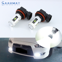 2x H11 H8  5PCS  w/ CREE CHIPS  25W  Car special front fog lamps LED Fog Lights lamps Bulb  For Mitsubishi ASX 11-13