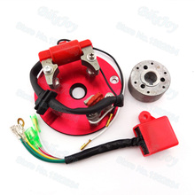 Red Racing Magneto Stator Rotor Ignition CDI Box For Chinese Lifan YX 110cc 125cc 140cc Engine Pit Dirt Motor Bike