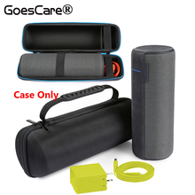 Newest Cover Carry Pouch Travel Bag Protective Case For Ultimate Ears UE MEGABOOM Bluetooth Speaker Extra Space For Plug&Cable(China)