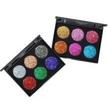 1PC Shining Brighten Shimmer Glitter Eye Shadow Powder Palette Matte Eyeshadow Cosmetic Makeup Kit(China)