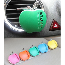 Optional Car Air Freshener Outlet Perfume Scent Interior Apple Shape Aromatherapy Fashion Car Air Freshener Car Accessories