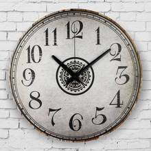vintage large decorative wall clock absolutely silent wall clock modern design fashion home decoration watch wall horloge murale