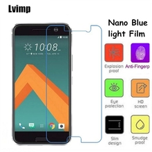 Lvimp Nano Soft Glass Eye-Protective Anti Blue Light Screen Protector Film for HTC 10 HTC One M10 HTC One 2 Perfume HTC M1
