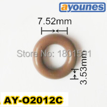 Wholesale universal viton orings ID7.52*CS3.53mm Fuel injection rubber seals for denso injector AY-O2012C