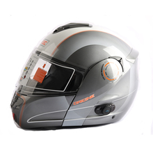 new Motorcycle Bluetooth Helmet ORICINE CE Authenticate Bluetooth Helmet Stereo Headphone Waterproof Wireless as good as LS2370(China)