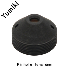 Yumiki infrared night vision camera 1.3MP pinhole lens 6mm F2.0 M12 thread CCTV lens for surveillance camera