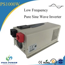 China manufacture PS Series 1000w pure sine wave low frequency inverter charger with UPS funtion(China)
