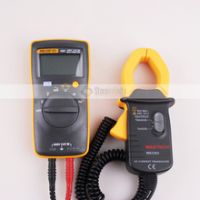 Fluke 101 Basic Digital Multimeter Pocket digital multimeter auto range MS3302 AC Current Transducer 0.1A-400A Clamp Meter(China)