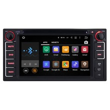 Universal 6.2 Inch 2 Din Android 5.1.1 Quad Core Car DVD Player for Toyota GPS Navigation Radio Audio Stereo Head Unit