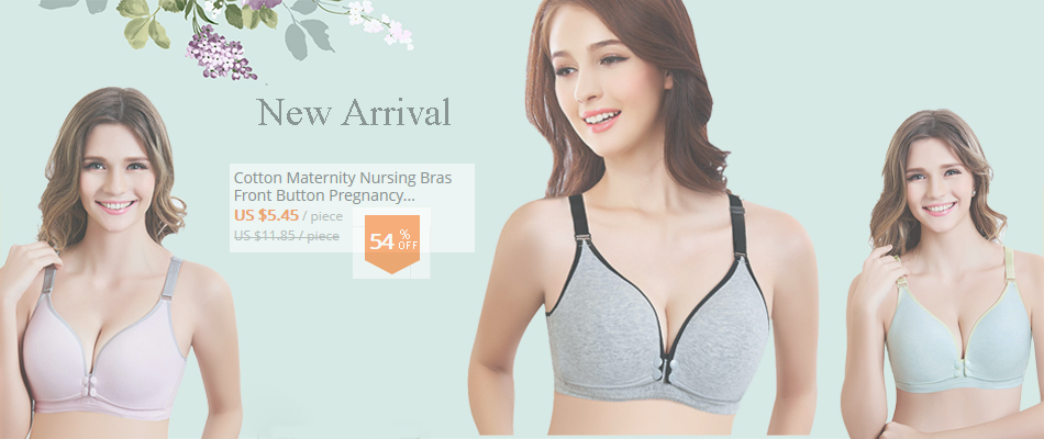 a94e32dcdf New Cotton Maternity Sleep Breastfeeding Bra Pregnant Women Nursing Bras  Underwear Clothes Soutien Gorge Allaitement M L XL XXL XXXL