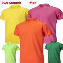 Ever Summit Man Sports POLO 100% Cotton High Quality Adult Summer Plus Soccer Shirts Custom Design Logo Taining Polo Golftennis