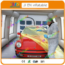 Free Shipping Car Painting Room for sale / Portable Spray Paint Booth / Car Painting Mobile Work Station with Free Air Blowers