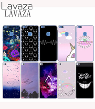 Lavaza 563E Hard Case Cover for Huawei P8 P9 P6 P7 P10 Lite PLUS for Honor 8 LITE 6 7 G7 4C 4X Stars And Planets Space alien