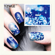 YZWLE 1 Sheet DIY Decals Nails Art Water Transfer Printing Stickers Accessories For Manicure Salon (YZW-162)(China)