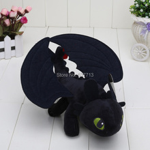 23cm / 33cm How To Train Your Dragon Toothless Night Fury plush Toy Doll