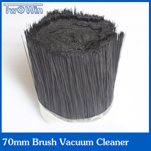 1m 70mm Brush Vacuum Cleaner Engraving machine Dust Cover for CNC Router for spindle motor(China)