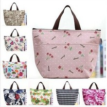 Retail Fashion Mummy Insulation Bag Baby Diaper Bags Mother Multifunctional Bags Portable MultiColor Mom Shoulder Bag 7 Style