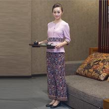 Southeast Asia work clothing Thai spa Technician service suit Beautiful uniforms Beauty salon
