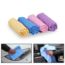 66x41cm Soft Chamois Leather Car Auto Cleaning Cloth Washing Suede Absorbent Towel Car Care Towels Car Styling Tool