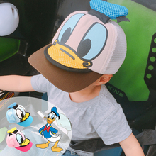 2017 Autumn Winter New Hot Fashion Children Caps for Baby Girls and Boys Child Hats Cartoon Cute Adjustable Visors