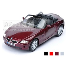 High Simulation Exquisite Model Toy: KiNSMART Car Styling Z4 Convertible Coupe Model 1:32 Alloy Car Model Excellent Gifts(China)