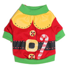 Christmas Dog Clothes Outfit for Small Dog Hoodie Dog Costume Clothes Pet Coat Santa Pet Dog Clothing Chihuahua Clothes(China)