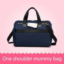 Baby Milk Bottle Insulation Bag Multi functional Mom Bag Waterproof Mummy Handbag Diaper Shoulder Bag Nappy Stroller Handbag(China)