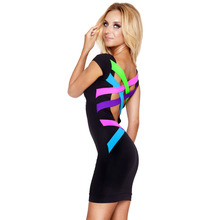 Vestidos De Festa Sexy Party Dress 2017 New Women Bandage Dress Backless Club Dresses Casual Women Summer Dress