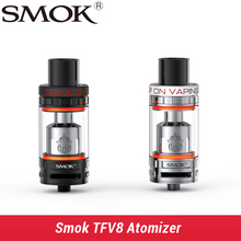 Smok TFV8 Atomizer 6.0ml TFV8 Tank With V8-T8 V8-Q4 Coil Head Top-filling Adjustable Airflow Control Tank