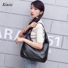 Xiniu Luxury handbags womens bags Designer Women's Pouch Clutch Fashion Vintage Ladies Leather Hobos Bag Handbag Shoulder Bags(China)