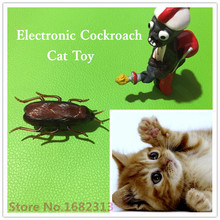 Cat Toy , Electronic Cockroach Cat Toy, Fun Cat Toy with Battery 2015 hot sale  new arrival frannnk