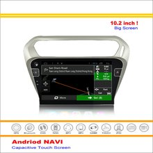 Car Android GPS Navigation System For Peugeot 301 / Citroen C-Elysee 2012~2016 - Radio Stereo Audio Multimedia No DVD Player