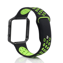 Bemorcabo for Fitbit Blaze Band Large,Soft Silicone Replacement Sport Band with Frame for Fitbit Blaze Smart Fitness Watch Small