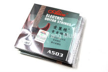 10 Pack Alice A503-009/010 in. Electric Guitar Strings E-1st Single Plated Steel String Free Shipping
